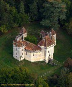 Château de Caussade, Trélissac, Dordogne, Périgord, France.