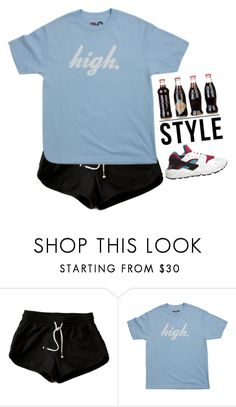 """#142"" by songjieun ❤ liked on Polyvore featuring NIKE"
