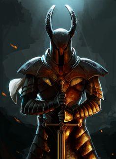 Dark Souls,фэндомы,DS art,Silver Knight