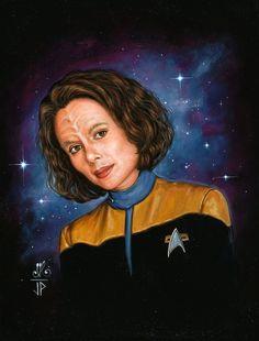 star trek character art | Woman of Star Trek - B'Elanna by Melanarus