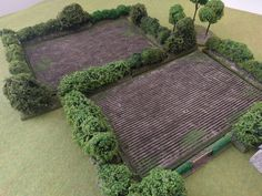 I was destroying some card board boxes to put into the recycling the other day but then was suddenly struck with a terrain vision in my backyard. As i tore up the reinforced card board i remembered… Wargaming Table, Wargaming Terrain, Game Terrain, 40k Terrain, Bolt Action Miniatures, Crop Field, Warhammer Terrain, Christmas Village Display, Modeling Techniques