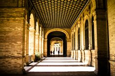 Sunny Seville Andalusia, Spain, Sevilla