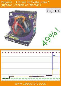 Pegasus - Artículo de fiesta, para 1 jugador (versión en alemán) (Juguete). Baja 49%! Precio actual 18,51 €, el precio anterior fue de 36,12 €. https://www.adquisitio.es/pegasus/art%C3%ADculo-fiesta-1-jugador