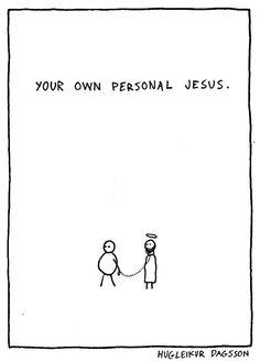 Personal Jesus - Hugleikur Dagsson