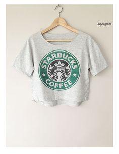 Starbucks Star Bucks Coffee Logo TShirt ! LOVE