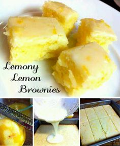 Lemon Bliss Bars (I use less lemon juice, otherwise it is too tart)
