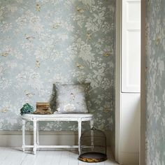 Style Library - The Premier Destination for Stylish and Quality British Design | Products | Chiswick Grove Wallpaper (DDAM216388) | Chiswick Grove Wallpapers | By Sanderson