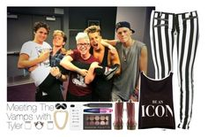 """""""Meeting The Vamps with Tyler"""" by zalix ❤ liked on Polyvore"""