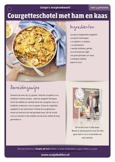 macaroni met tonijn sonja bakker