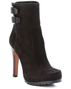 "Spotted this Rachel Zoe ""Reece"" Leather Ankle Boot on Rue La La. Shop (quickly!)."