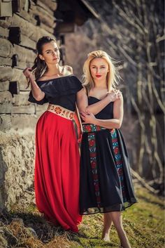Na parádu   krásne tradičné a moderné... #praveslovenske od Folková   #slovensko #slovakia #folk #folklor #folklore #traditions #traditional #fashion #style #ornaments #girls #beauty #folkart
