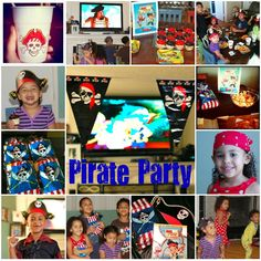 How to have a Jake and the Never Land Pirates Party!    Visit www.fireblossomcandle.com for more party ideas!