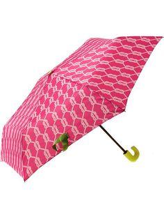 Printed Pink Umbrella