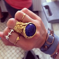 YSL Ring, layered bands