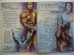 Arnold Schwarzenegger Olympia Training Secrets of the Oak Arnold Schwarzenegger Workout, Arnold Schwarzenegger Bodybuilding, Fit Board Workouts, Gym Workouts, Workout Board, Gym Workout Chart, Man Workout, Bodybuilding Workouts, Bodybuilding Motivation