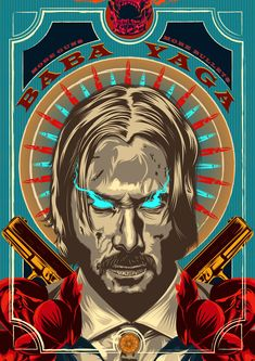 Amazing John Wick Poster For Keanu Reeves Fans! Pop Art Posters, Movie Poster Art, Cool Posters, Poster Prints, Evvi Art, John Wick Movie, Keanu Reeves John Wick, Movie Wallpapers, Dope Art