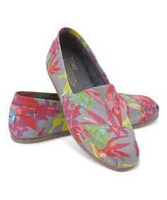 Look what I found on #zulily! Gray Birds of Paradise Classics by TOMS #zulilyfinds