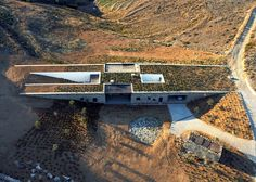 underground architecture   ... sustainable architecture, underground house, deca architecture, Greece