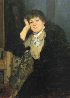 Portrait of a Young Lady by Marie Bashkirtseff