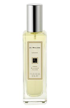 Free shipping and returns on Jo Malone London Jo Malone™ 'Amber & Lavender' Cologne (1 oz.) at Nordstrom.com. Amber, the exotic scent of the Orient and one of the perfume world's most legendary ingredients, is combined with the comfort of French lavender and myrrh. This clean, aromatic spice evokes the subtle, spicy warmth of twilight. Notes - Top: petitgrain. Middle: French lavender - Base: amber