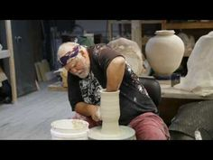 Randy Clyde Brodnax Pottery Workshop part 1