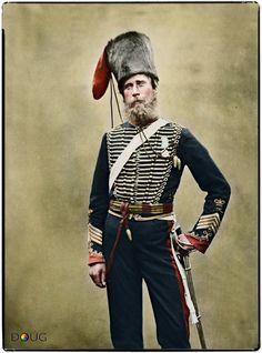 Sergeant-Major James Beardsley, 'C' - Troop of the Royal Horse Artillery.