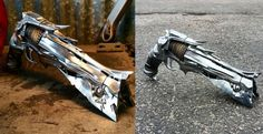 Real life replica of the Thorn Hand Cannon from Destiny Destiny Bungie, Destiny Game, Destiny Comic, Hand Cannon, Fire Powers, Video Game Art, Video Games, Fantasy Weapons, Airsoft Guns