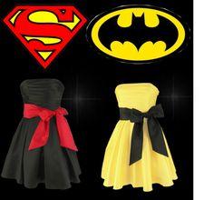 """Superman or Batman?"" by mariliasuckert ❤ liked on Polyvore"