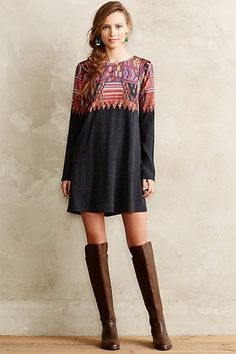 Daugava Petite Swing Dress anthropologie.com #anthroregistry