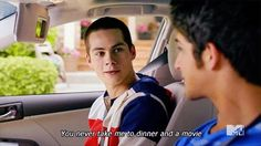 Teen wolf cast commercials for Toyota Tyler Posey Dylan O'Brien Stiles and Scott Teen Wolf Mtv, Teen Wolf Funny, Teen Wolf Dylan, Teen Wolf Stiles, Teen Wolf Cast, Paige Teen Wolf, Dylan O'brien, Teen Wolf Quotes, Teen Wolf Memes