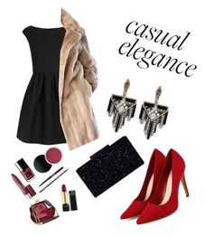 """""""Casual elegance"""" by andreea-pug ❤ liked on Polyvore featuring Boutique Moschino and Lulu Frost"""