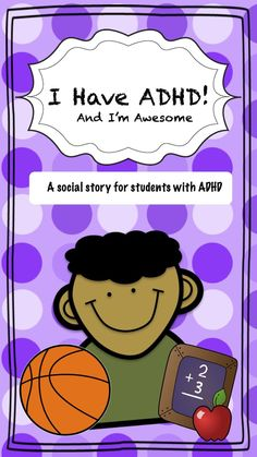 """This social story was created to develop self-esteem and advocacy for students that have behavioral difficulties in the classroom due to their ADHD. This story is narrated by """"Aiden"""" who is a student that has ADHD and asks for advice on how to manage his impulses in the classroom. Each short story is followed by 3 suggestions for Aiden so he can improve his social and academic behaviors."""