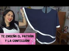 Blouse Designs, Cheer Skirts, Embroidery Designs, Lily, Sewing, Amor Youtube, Tops, Fashion, Sewing Tips
