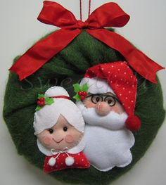 ♥♥♥ Coroa Mãe e Pai Natal... | Flickr – Compartilhamento de fotos!