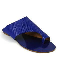 RASTEIRA GEOMETRICA AZUL |Bella Bella Shoes