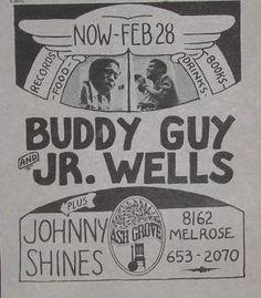 Buddy Guy & Junior Wells at Ash Groove Nov 28 1971 - Los Angeles