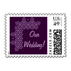 Jewish Wedding Postage