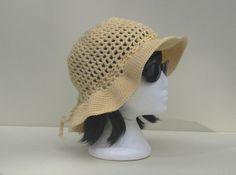 Mesh Sun Hat Crochet Tutorial