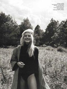 Geek are Chic! Beauty Ashley Smith for Glamour Germany, hair by Leonardo Manetti! #ionstudionyc #ashleysmith