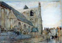 Abbeville Church of St Wulfran  - John Ruskin