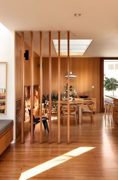 image result for partition design for living room and dining hall