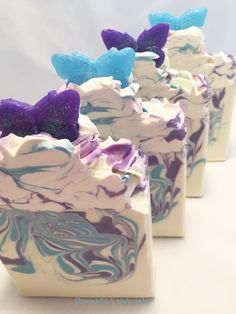 Dog and Butterfly Artisan Soap