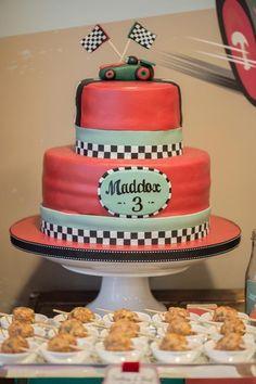 Vintage Race Car Birthday Party Pictures | POPSUGAR Moms