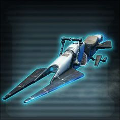 The Falchion was a speeder bike produced by Ikas during the Cold War between the Galactic Republic and the Sith Empire. Star Wars: The Old Republic