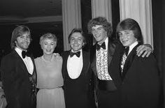 Shirley Jones with son's Shaun, (step son David) Patrick and Ryan..