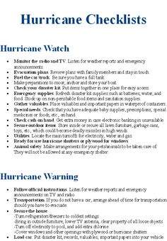 Image detail for -Hurricane Safety Tips
