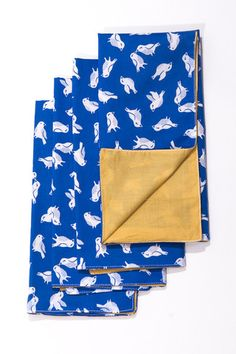 Handmade napkins, sourced by and available from Imagine Goods.