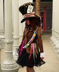 Mad Hatter costume ok my child will wear this for Halloween. Heck I might wear this for Halloween