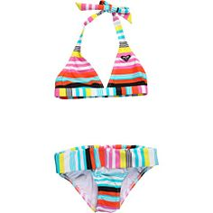 Roxy Kids - Shades of Summer Shore Halter Set (Big Kids) swim suits!