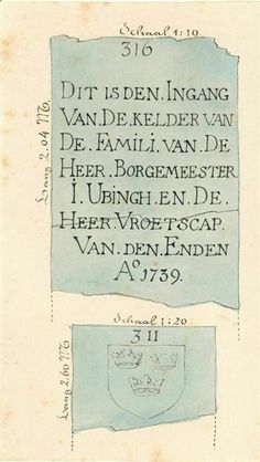 Grafkelder Isaac Ubingh Jacobikerk (HUA). Utrecht, Personalized Items, Vintage